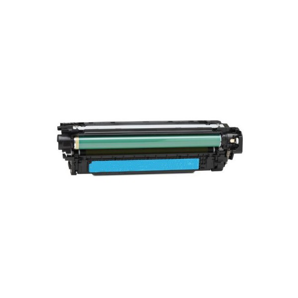 Compatible HP 504A (CE251A) Cyan Toner Cartridge