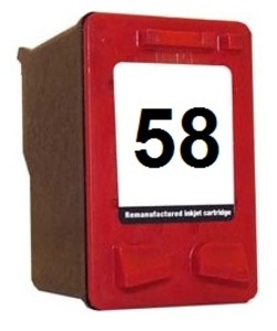 Compatible HP HP58 Photo Inkjet Cartridge