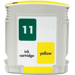 Compatible HP HP11Y Yellow Inkjet Cartridge