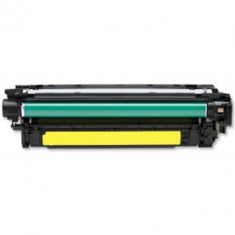Compatible HP 504A (CE252A) Yellow Toner Cartridge