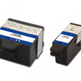 Compatible Kodak (Dual Pack) 10 BK/ 10 CLR (XL) Inkjet Cartridges