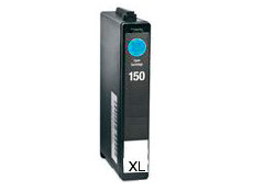 Compatible Lexmark 14N1615E (No150XL) High-Capacity Cyan Inkjet Cartridge,
