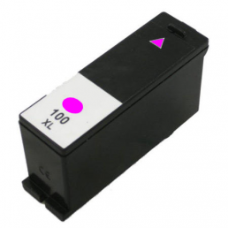 Compatible Lexmark 14N0901E (No100XL) High-Capacity Magenta Inkjet Cartridge,