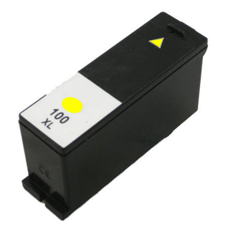 Compatible Lexmark 14N0902E (No100XL) High-Capacity Yellow Inkjet Cartridge,