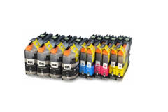 Compatible Brother (Mega 10 Pack) LC127MPK (XL) Inkjet Cartridges