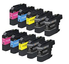 Compatible Brother (Mega 10 Pack) LC1280MPK Inkjet Cartridges