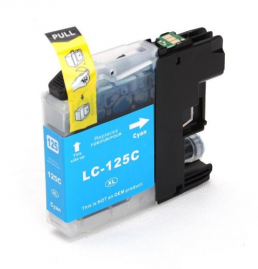 Compatible Brother LC125C (XL) Cyan Inkjet Cartridge