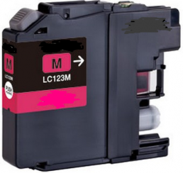 Compatible Brother LC123M Magenta Inkjet Cartridge