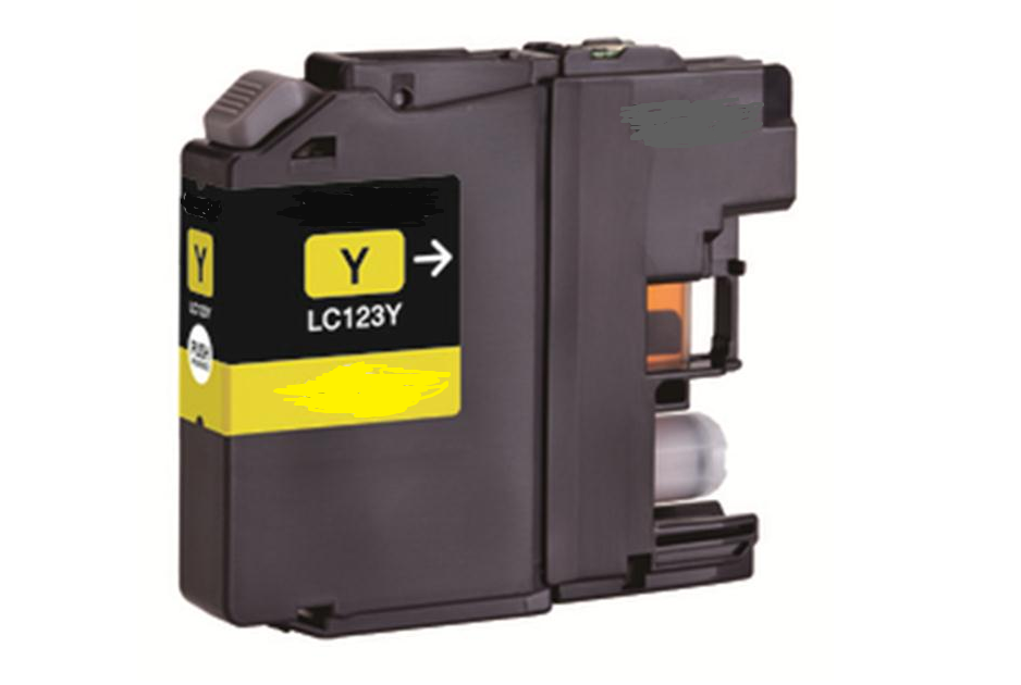 Compatible Brother LC225Y Yellow Inkjet Cartridge