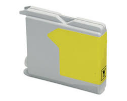 Compatible Brother LC1000Y Yellow Inkjet Cartridge