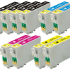 Compatible Epson T0615 (Mega 10 Pack) Inkjet Cartridges