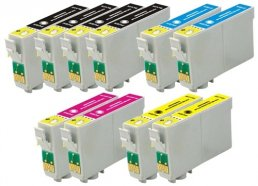 Compatible Epson T0715 (Mega 10 Pack) Inkjet Cartridges