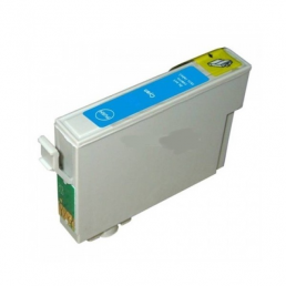 Compatible Epson T0712 Cyan Inkjet Cartridge