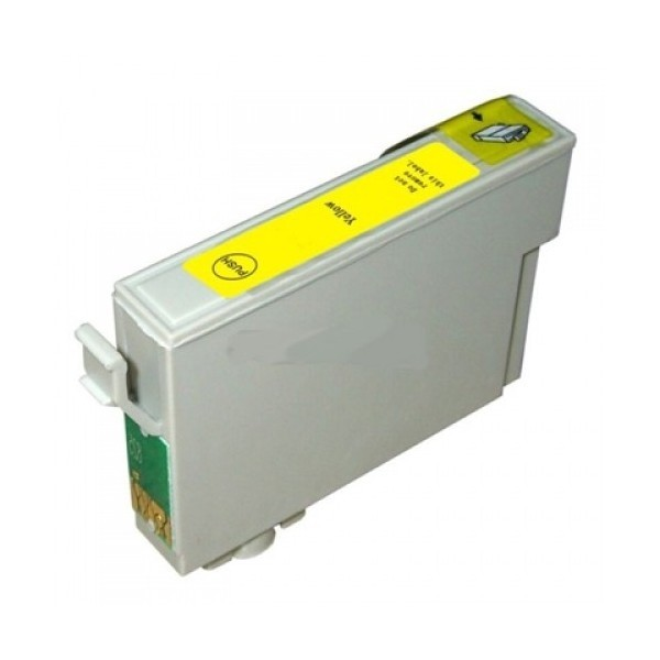 Compatible Epson T0804 Yellow Inkjet Cartridge