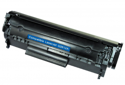 Compatible HP Q2612A (12A) Black Toner Cartridge