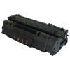 Compatible HP Q7553A (53A) Black Toner Cartridge