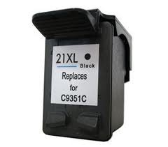 Compatible HP HP21 (XL) Black Inkjet Cartridge