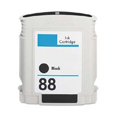Compatible Hewlett Packard HP88 Black Inkjet Cartridge