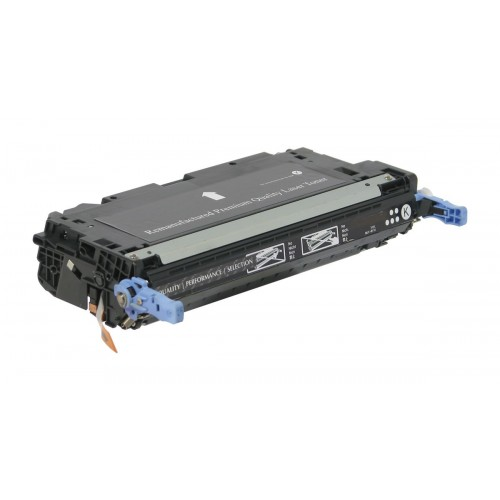 Compatible HP 501A (Q6470A) Black Toner Cartridge