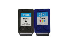 Compatible HP (Dual Pack) HP21 (XL)/ HP22 (XL) Inkjet Cartridges