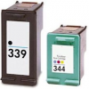 Compatible HP (Dual Pack) HP339 BK/ HP344 CLR Inkjet Cartridges
