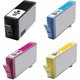 Compatible HP (Mega 4 Pack) HP920 (XL) Inkjet Cartridges