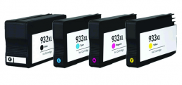 Compatible HP (Mega 4 Pack) HP932/ HP933 (XL) Inkjet Cartridges