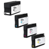 Compatible HP (Mega 4 Pack) HP950 (XL) Inkjet Cartridges