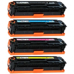 Compatible HP 125A (CB540A/CB541A/CB542A/CB543A) Multi-Pack