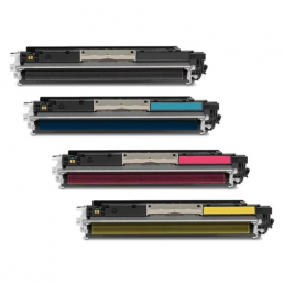 Compatible HP 126A (CE310A/CE311A/CE312A/CE313A) Multi-Pack