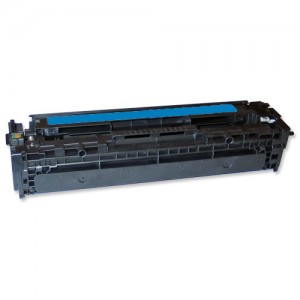 Compatible Hewlett Packard 125A (CB541A) Cyan Toner Cartridge