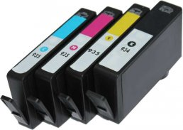 Compatible HP (Mega 4 Pack) HP934/ HP935 (XL) Inkjet Cartridges