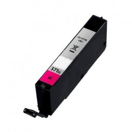 Compatible Canon CLI-571XLM Magenta Inkjet Cartridge