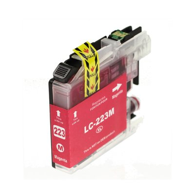 Compatible Brother LC223M Magenta Inkjet Cartridge