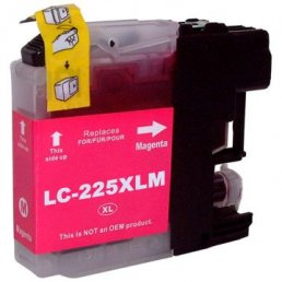 Compatible Brother LC225M Magenta Inkjet Cartridge